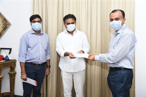 Mr. TG Vishwa Prasad, Donates 25 lakhs to fight corona